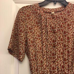 Dresses & Skirts - Vintage Button Down midi dress
